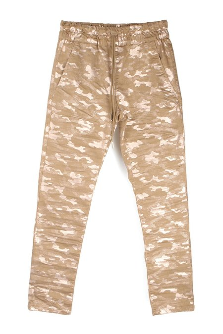 Bevy Flog Shely Pants - Beige/Gold Camo