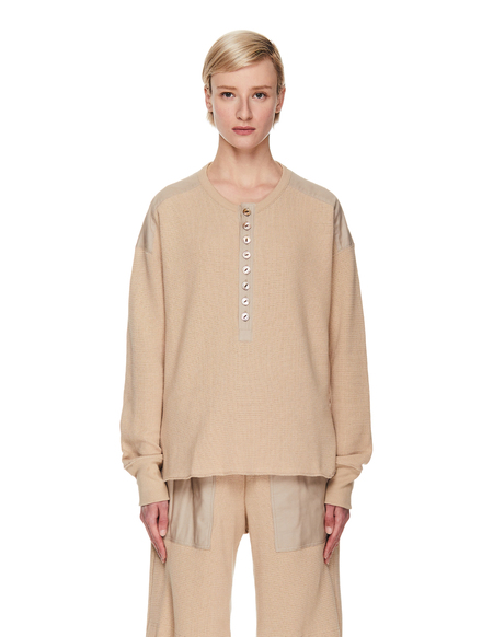 Y's Knitted Jumper - Beige