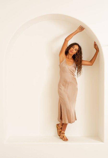 Natalie Martin Grier Long Slip - Mocha