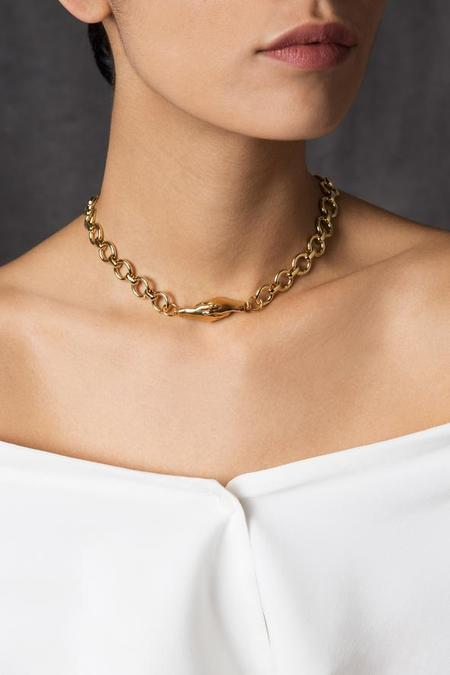 MLE Gentlewoman's Agreement Necklace - Gold