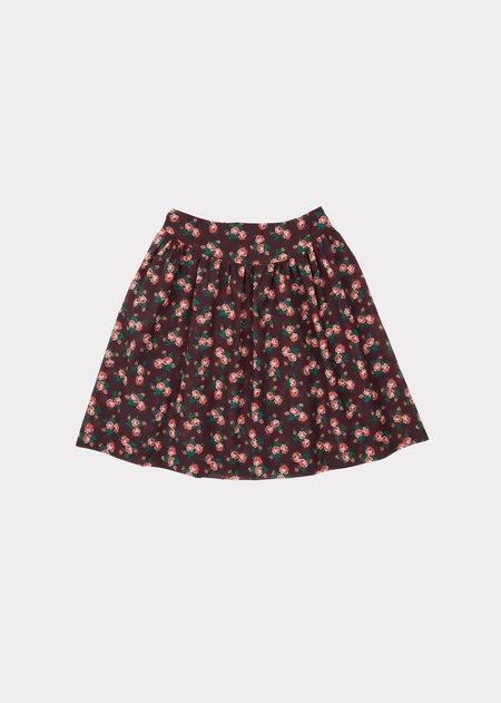 kids Caramel Flounder Skirt - Bright Floral