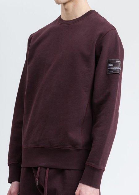Helmut Lang Patch Sweatshirt - Crimson Red