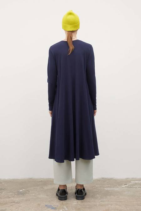 Kowtow Long Sleeve Dress - Navy