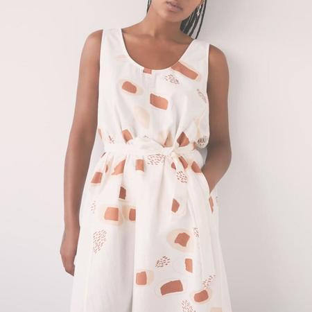 Eve Gravel Pluie D'ete Dress - Seeds Print