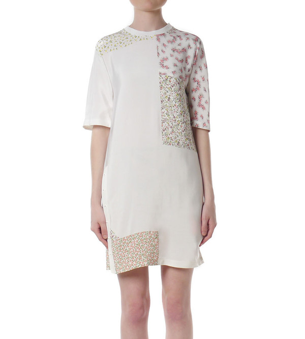 3.1 Phillip Lim T-Shirt Dress with Twisted Placket