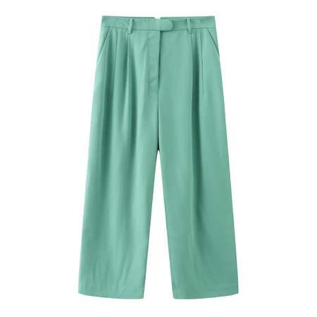 Matter Matters Hello Wide-leg Pants - Mint
