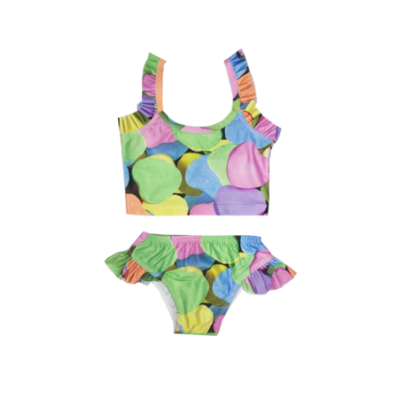 Romey Loves Lulu Candy Hearts Bikini - Multi