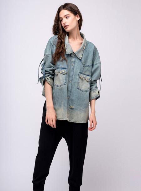 Series Noir Maryse Jacket - Faded Blue