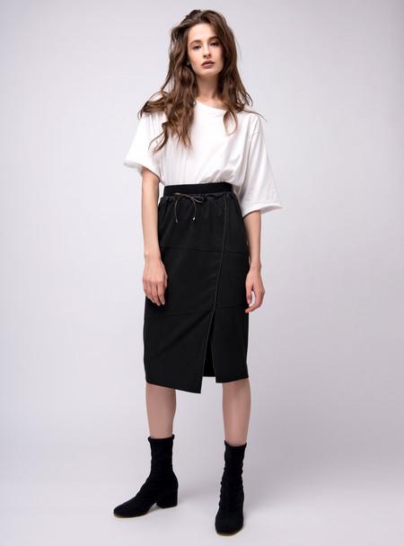Series Noir Sasha Skirt - Charcoal Grey