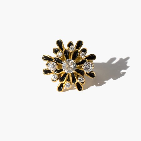 Kindred Black A Brightness Unobscured ring - 14k gold/1.5ct
