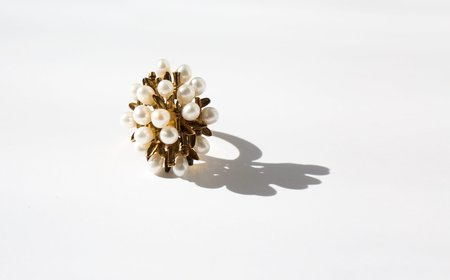 Kindred Black And Beautiful The Bare Boughs ring - 14k gold