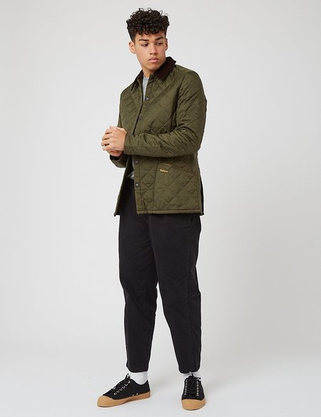 Barbour Beacon Broad Wax Jacket - Olive