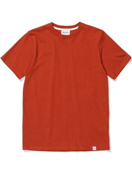 Norse Projects Niels Standard T-Shirt - Industrial Orange