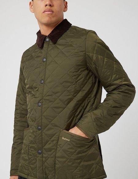 Barbour Heritage Liddesdale Quilted Jacket - Olive Green