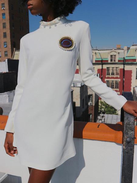 Anna K Space Dress - White