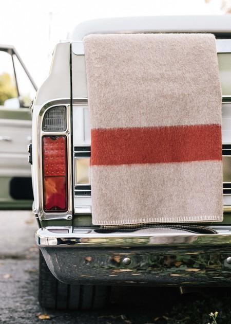 Blacksaw Siempher Recycled Blanket