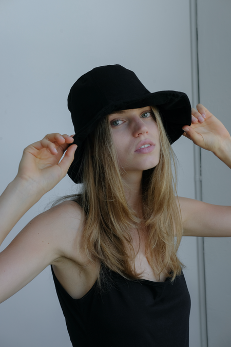 Wellington Factory Everyday Hat - Black