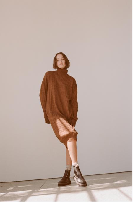 Wellington Factory Yoko Dress - Walnut