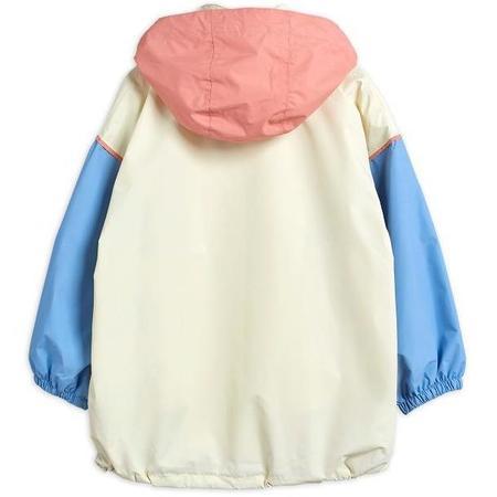 Kids Mini Rodini Windshell Parka - Off White