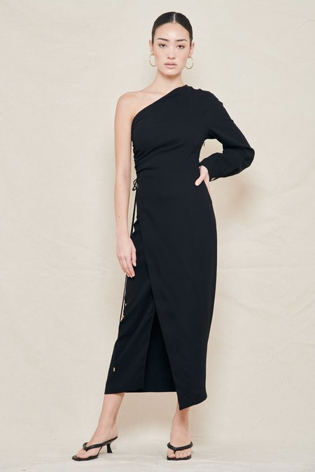 Nanushka Aram One-Shoulder Dress