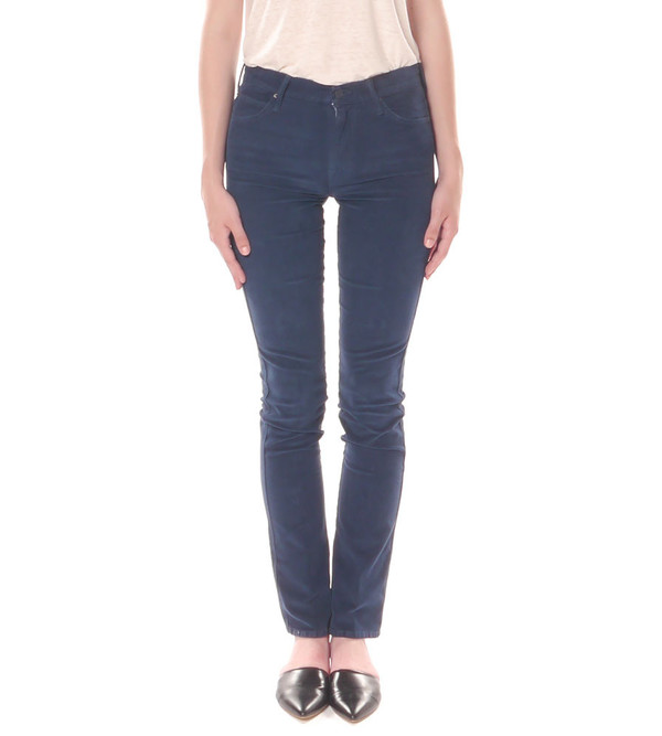 Mother Denim The High Waist Rascal in Someone Else's Fairytale Cord