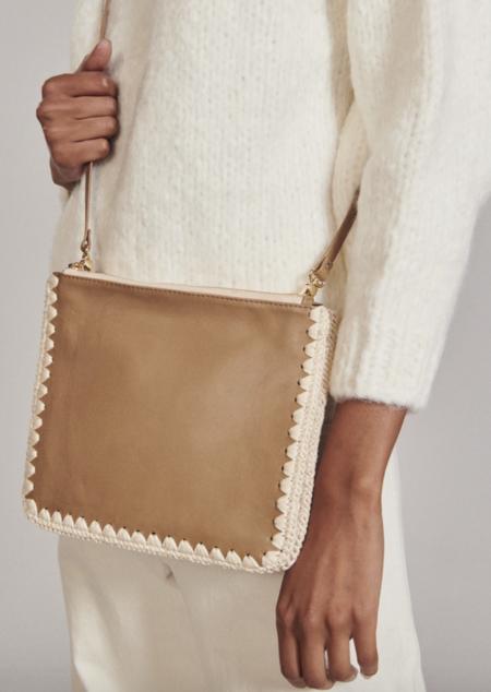 Rachel Comey Dey Leather Crossbody Bag