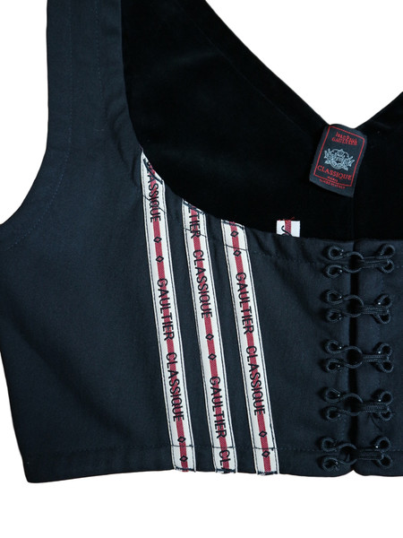 HOH Curate Vintage Jean Paul Gaultier - 1990's Cropped Bustier Top