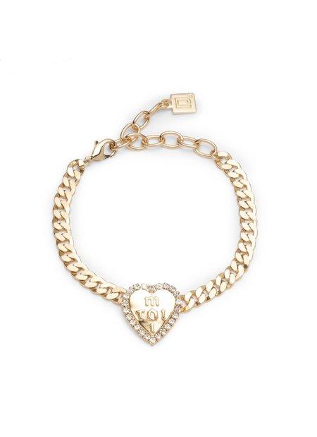 Dannijo Octave Bracelet - 10k gold plated