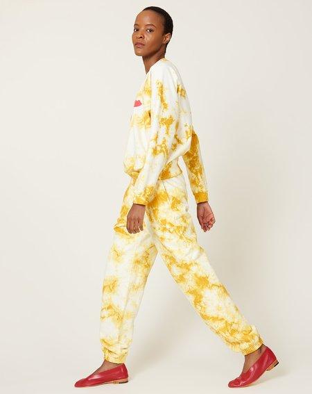 Clare V. Lips Sweatshirt - Marigold Cloud Tie Dye