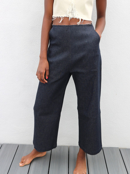 Markoo The Denim Wide Leg Pant