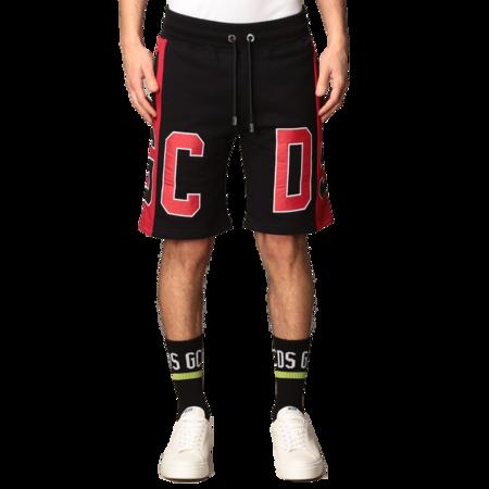 GCDS Ultra Logo Shorts - Black/Red