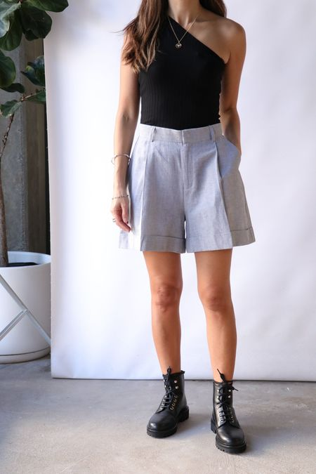 Rodebjer Marta Shorts - Grey