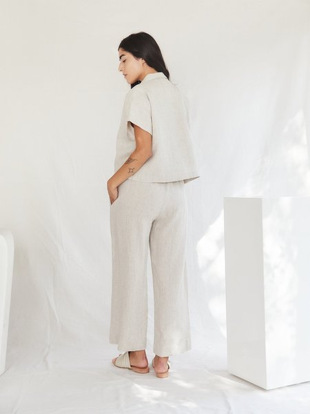 Sugar Candy Mountain The Topaz Pants - Flax