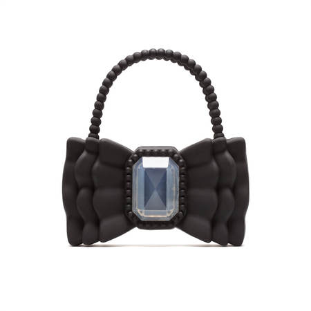 "Vrients FORBITCHES Bow bag 9"" - Black"