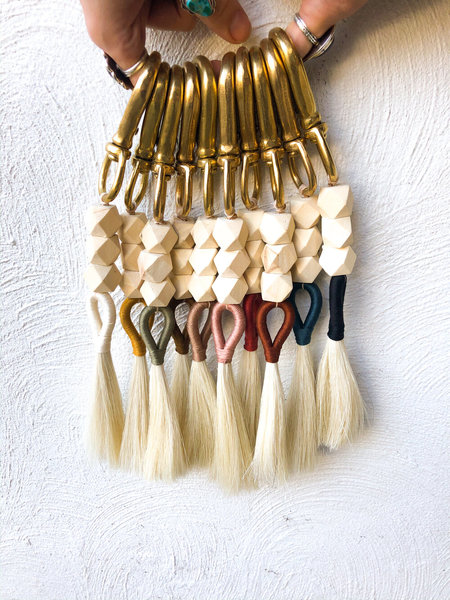 Ida+Moon VALLEY OF FIRE LONG TASSEL CLIP