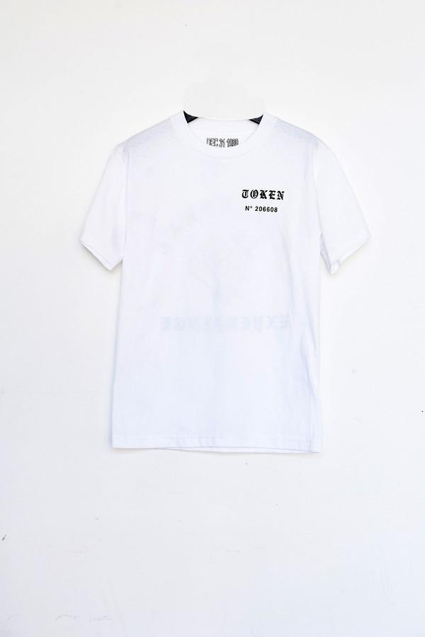 Unisex Token Cotton Spirit Ex/Rose T-Shirt - White
