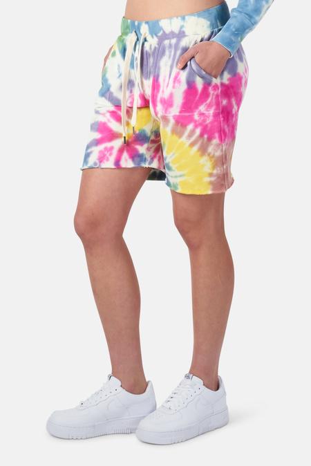 NSF Jen Sweatshort - Skittles Dye