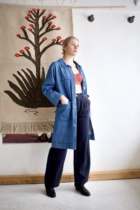 Ilana Kohn Park Jacket - Faded Denim