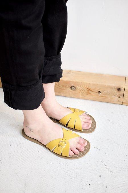 Salt Water Sandal Slide Sandal - Mustard