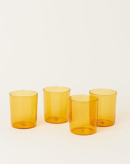Maison Balzac Set of 4 Goblets - Miel