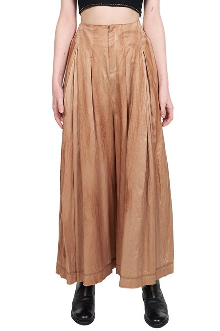 Phaedo Wide Leg Trousers - Tan