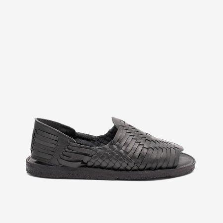 TheCanoShoe Itzel shoes - Natural All Black