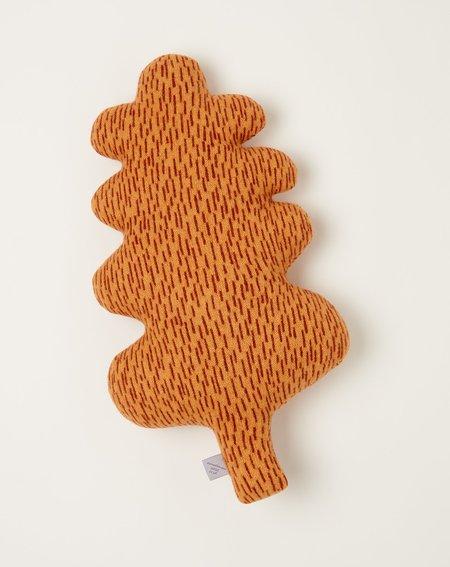 Donna Wilson Leaf Cushion - Brown