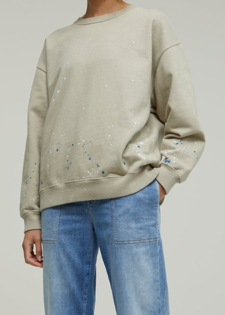 Closed Colour Splash Sweatshirt - gray