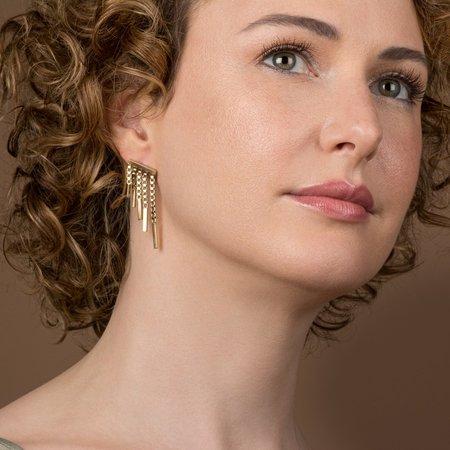 Haley Lebeuf Jewelry Fringe Ear Climber