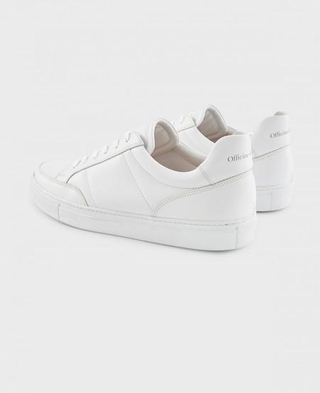 Officine Generale Corey leather sneakers