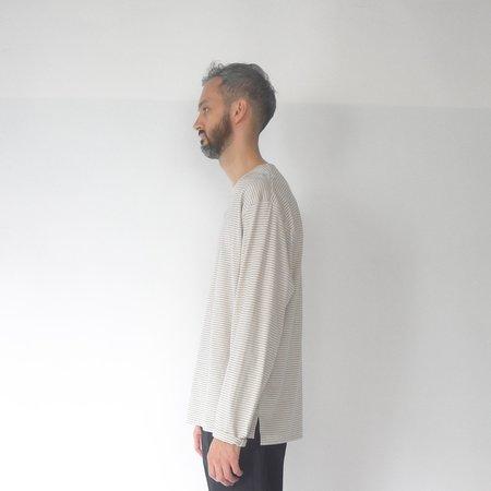 Still By Hand Striped long sleeve t-shirt - yellow/beige