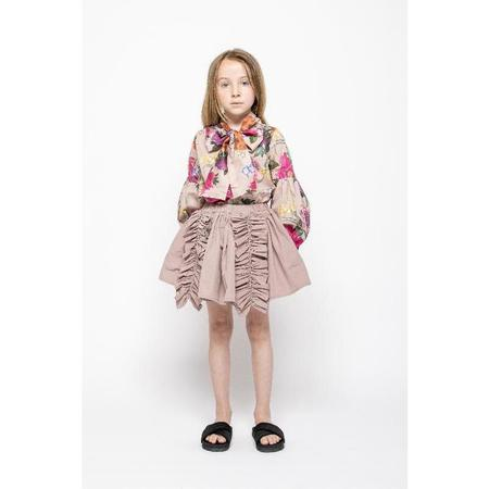 kids christina rohde ruffled skirt - pale rose