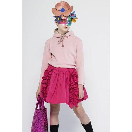 Kids christina rohde ruffled skirt - pink