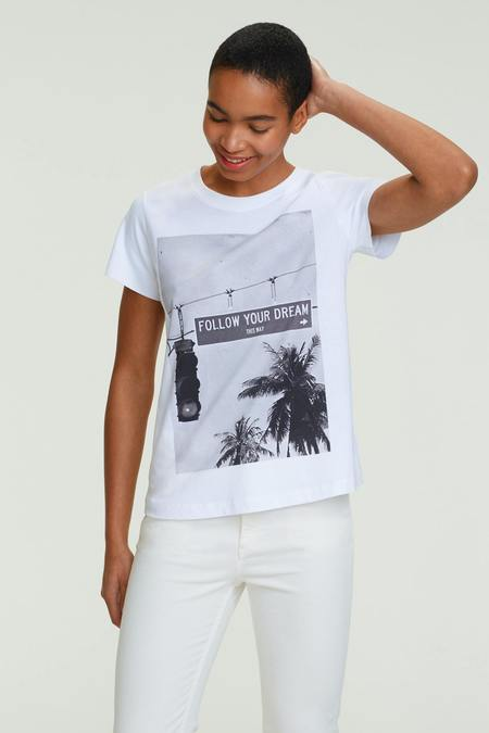 Dorothee Schumacher Follow Your Dreams Tee - Pure White
